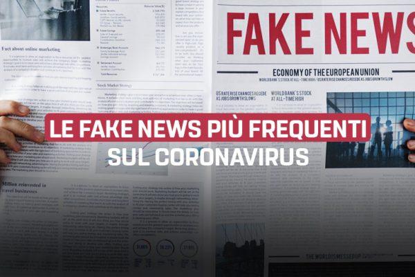 Le 12 fake news sul Coronavirus